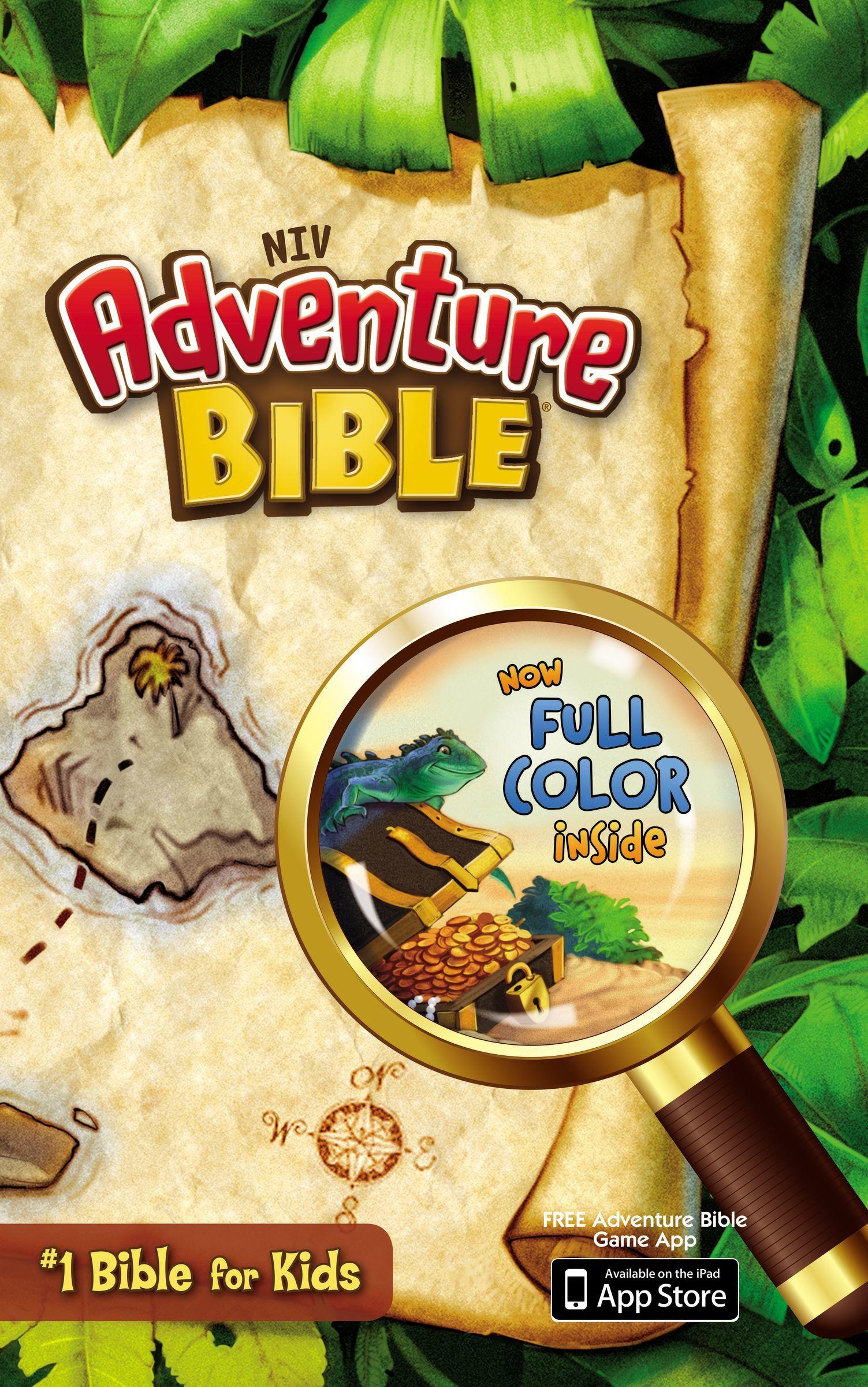 NIV Adventure Bible- Hardcover