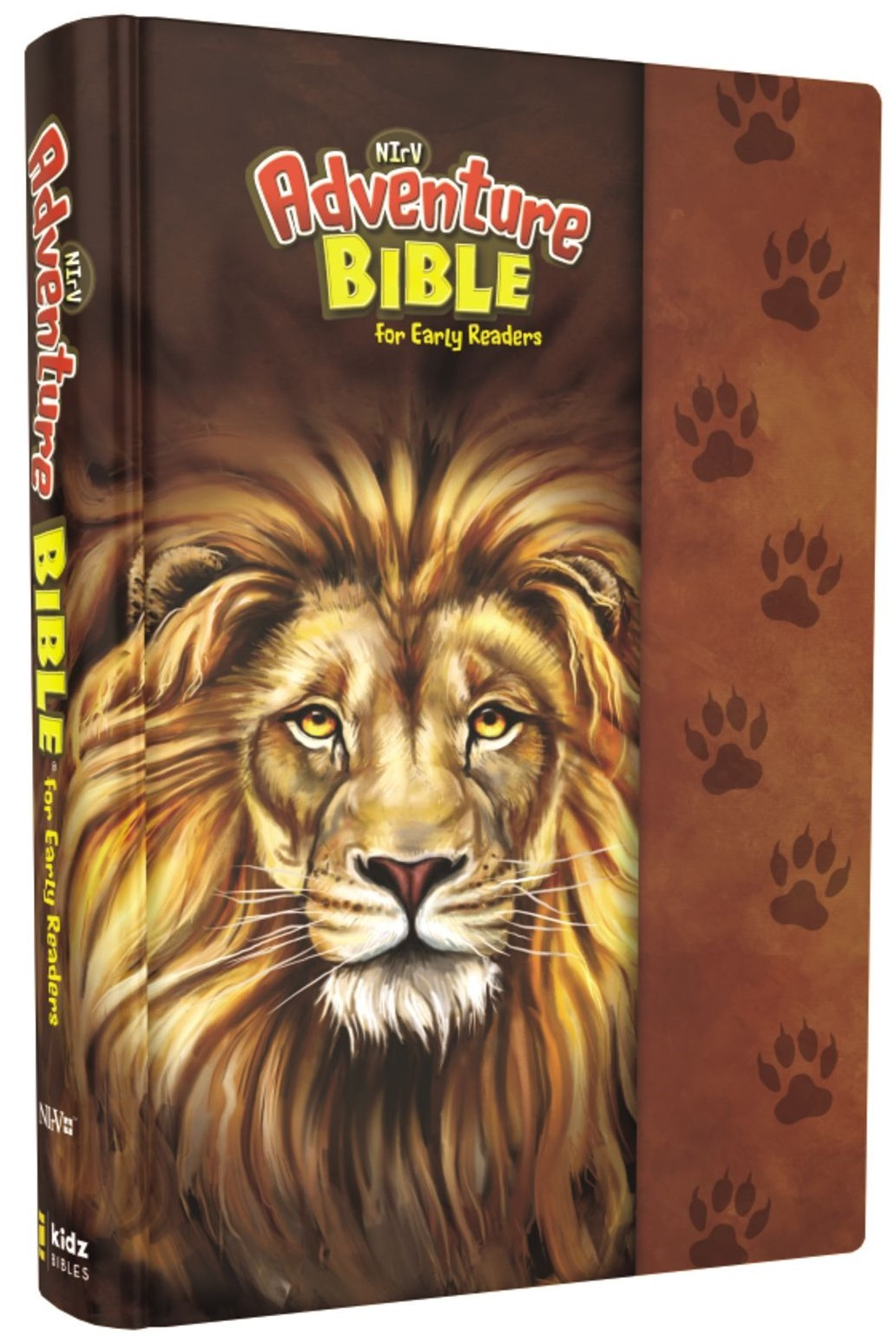 NIrV Adventure Bible- Lion w/Magnetic Closure
