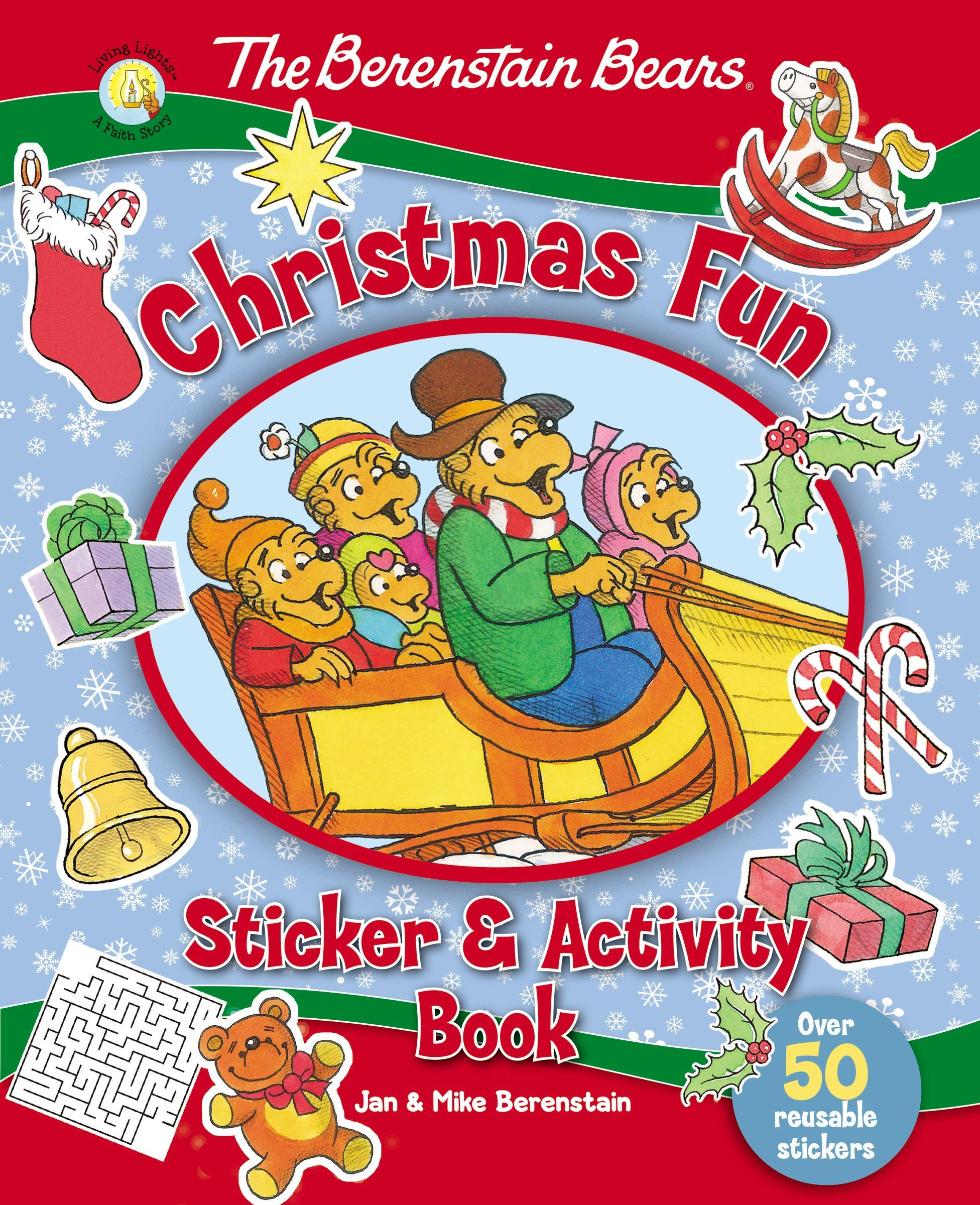 Berenstain Bears Christmas Fun Sticker and Activity Book