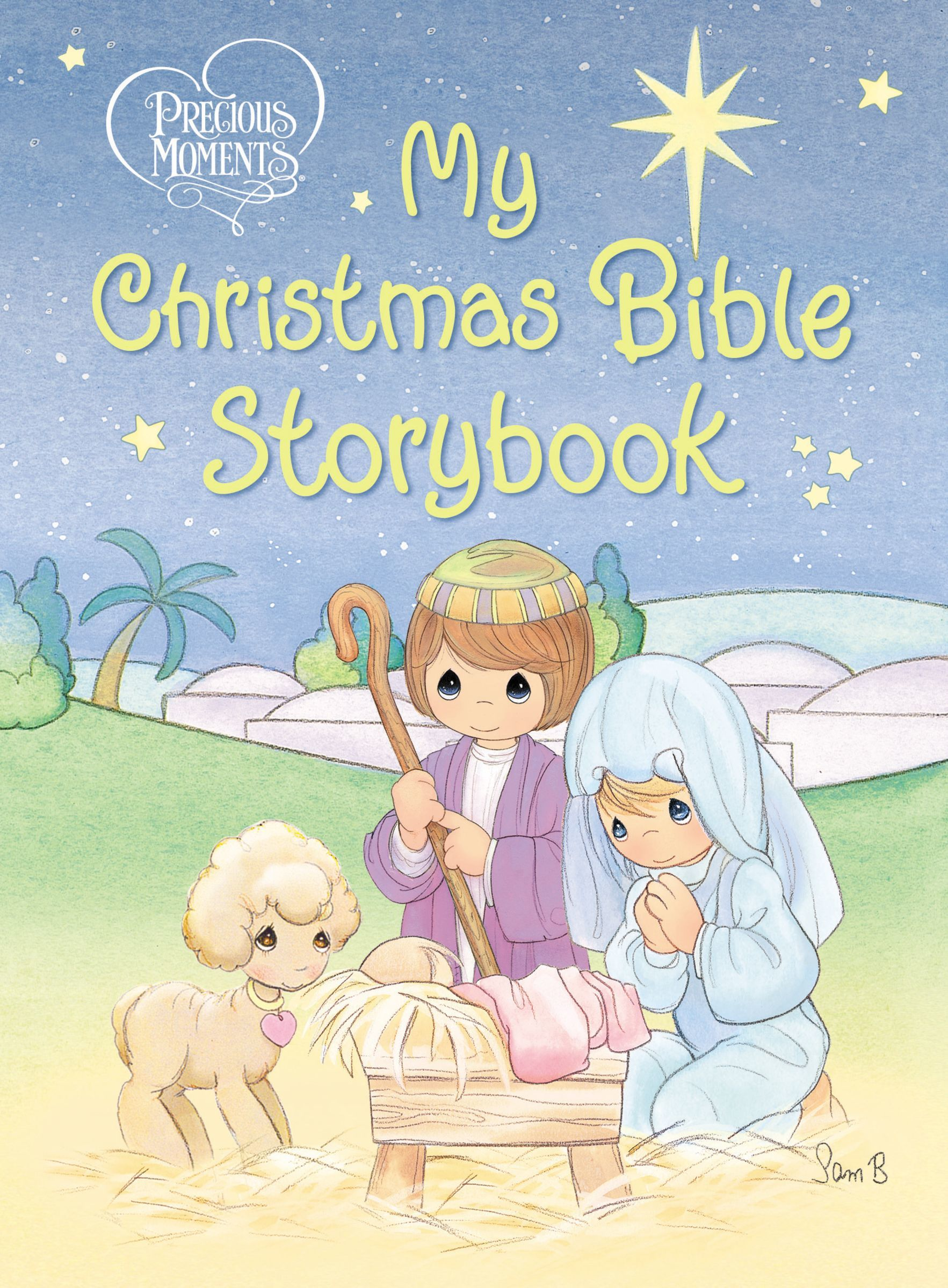 Precious Moments- My Christmas Bible Storybook