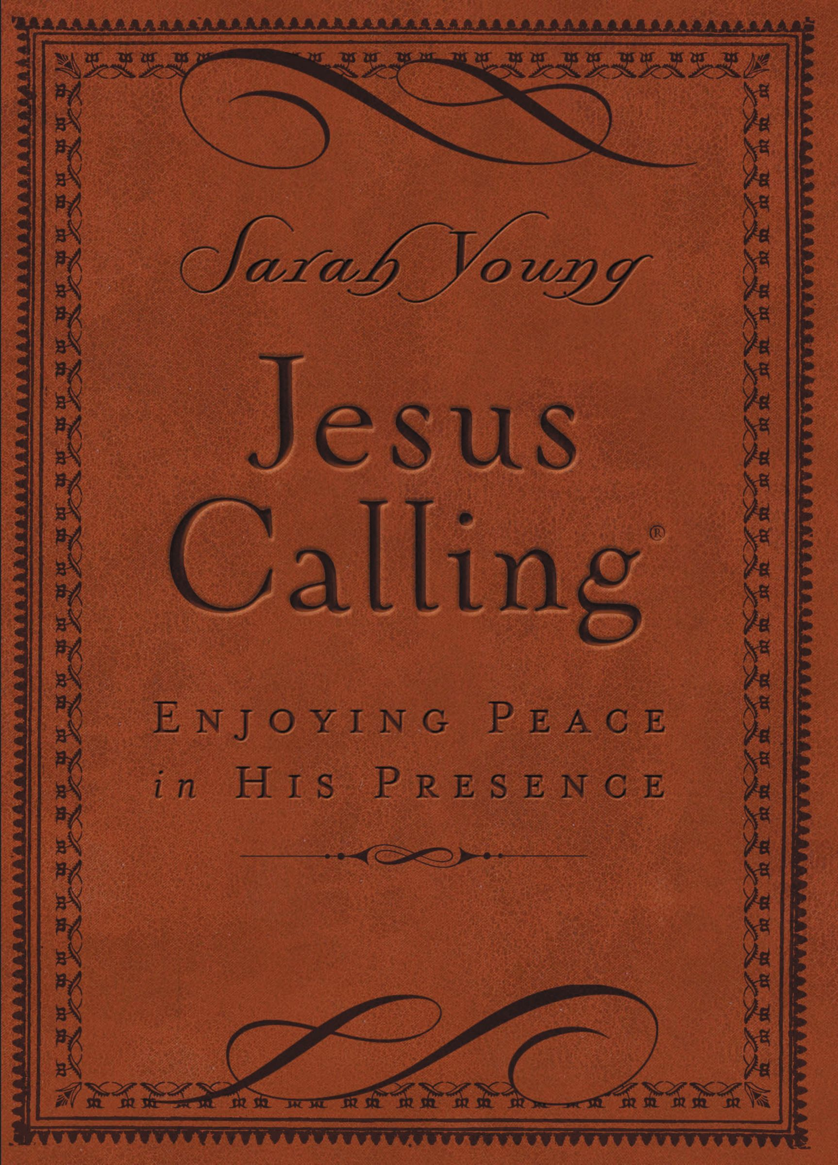 Jesus Calling- Brown Leathersoft