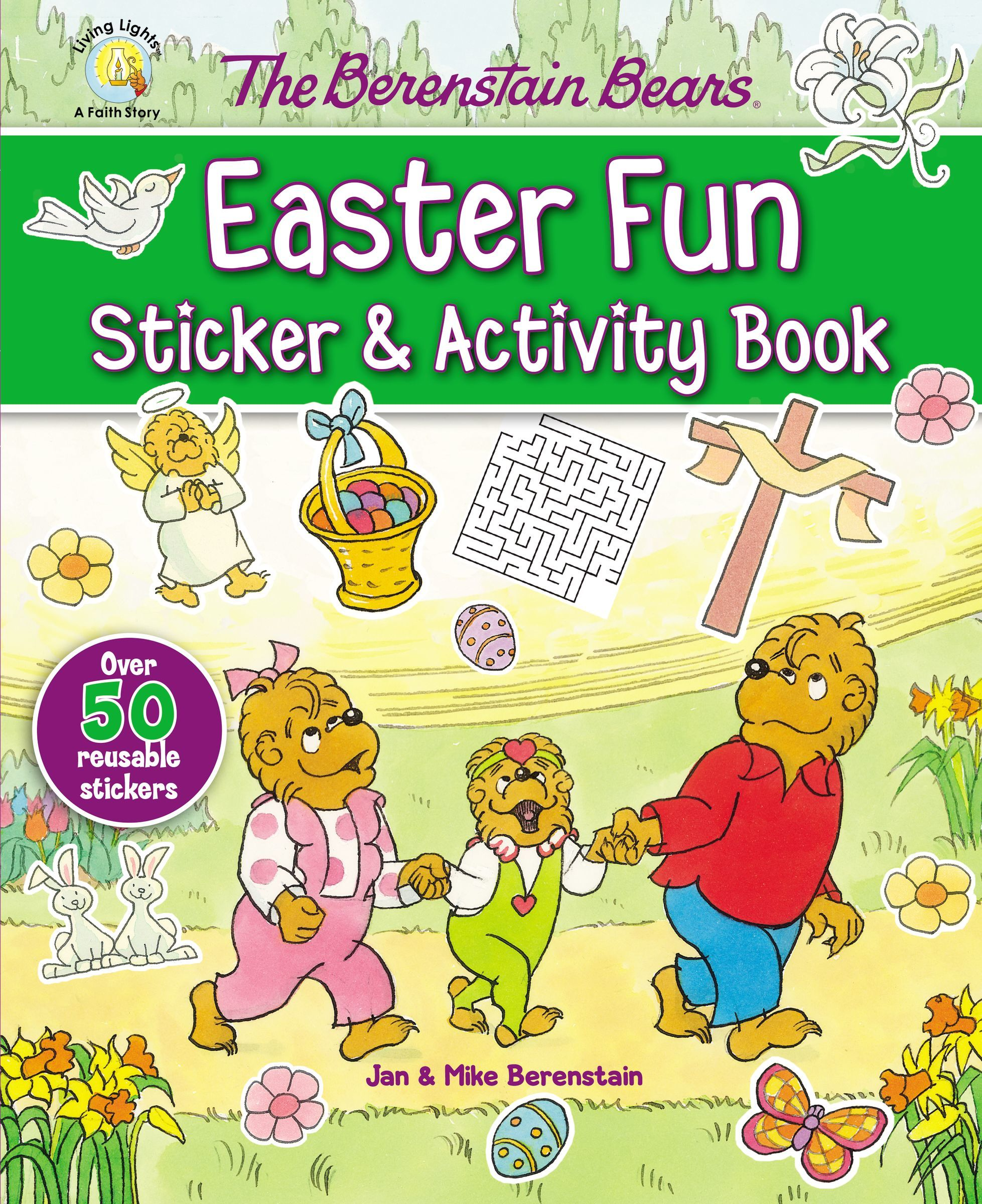 The Berenstain Bers Easter Fun Sticker & Activity Book